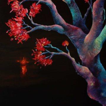 Luz mala. Acrylique sur toile 60 x 80 cm.