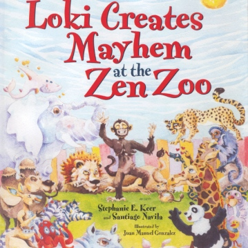Loki Creates Mayhem at the Zen Zoo